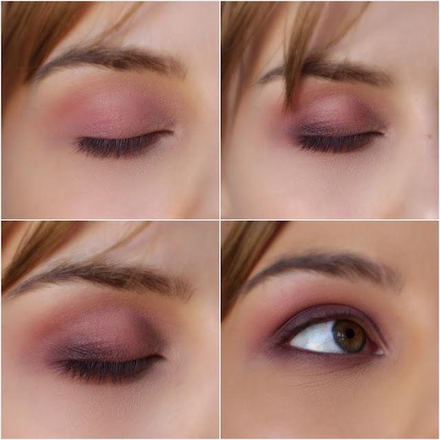 fiolety makijażu