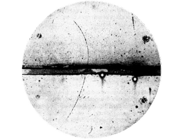carl anderson cloud chamber positron antimatter paul dirac