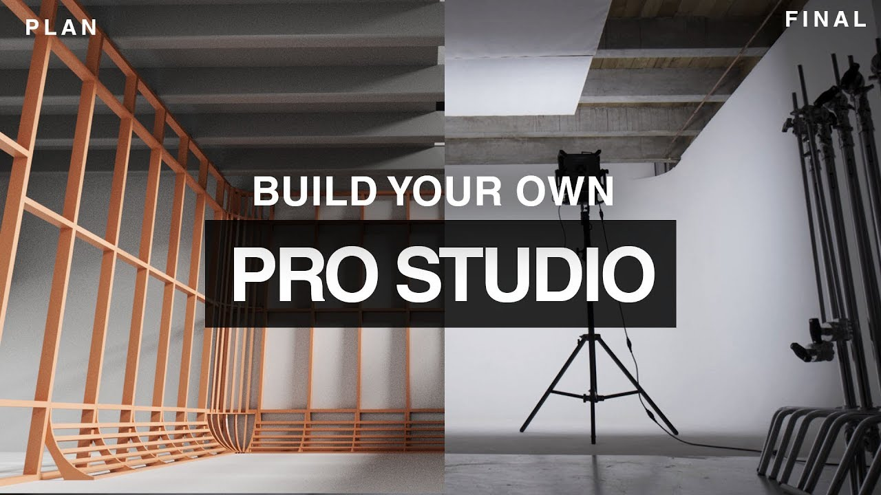 Cyclorama How to build your own Photo Video Studio on a budget