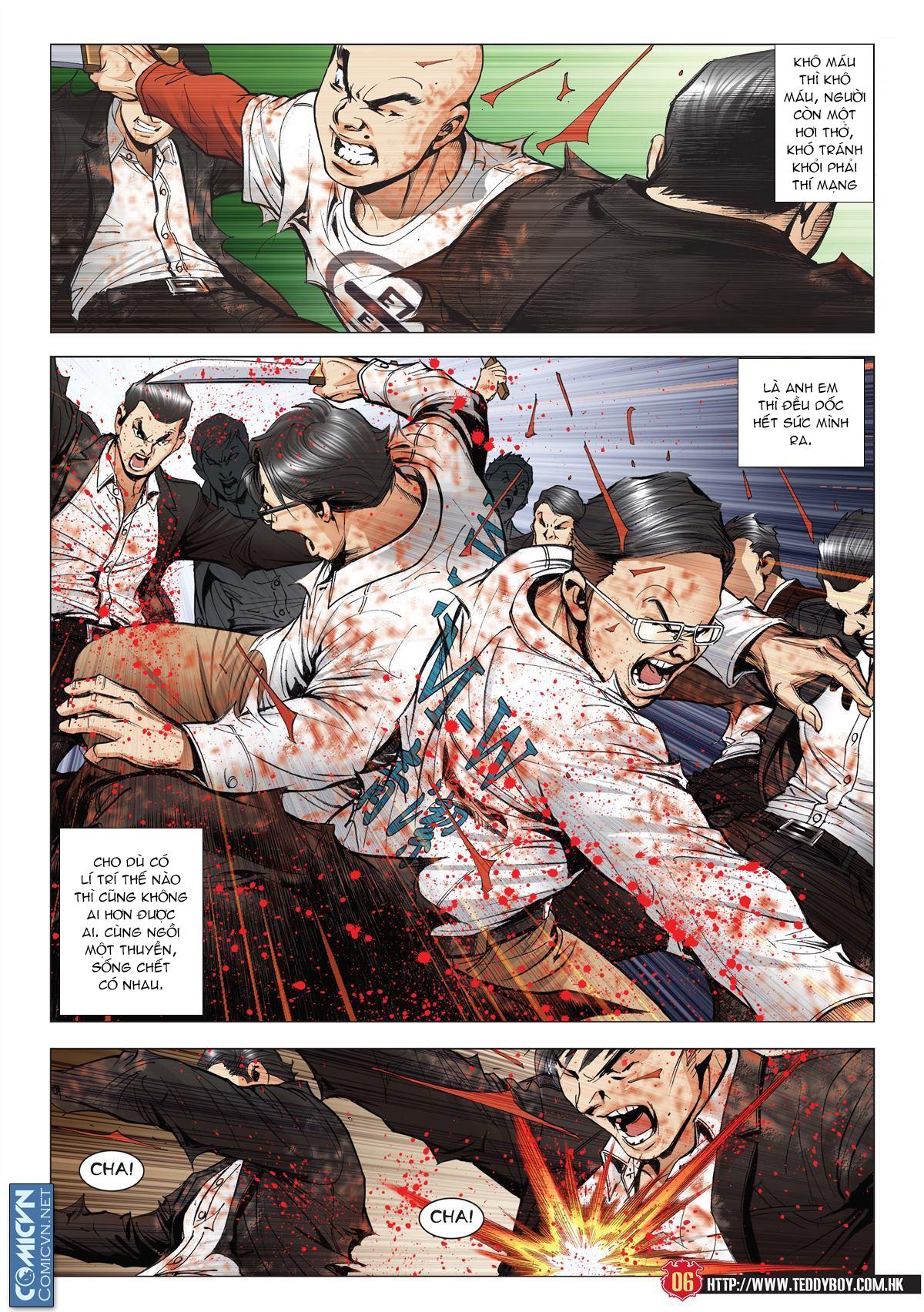 Người Trong Giang Hồ chapter 1997: triệu oánh vs đinh dao trang 4