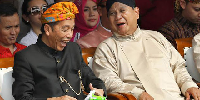 Wacana Jokowi-Prabowo Cuma Dibuat Relawan Yang Punya Kegenitan Tinggi Terhadap Kekuasaan