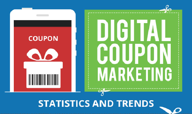Digital Coupon Marketing Statistics and Trends #infographic