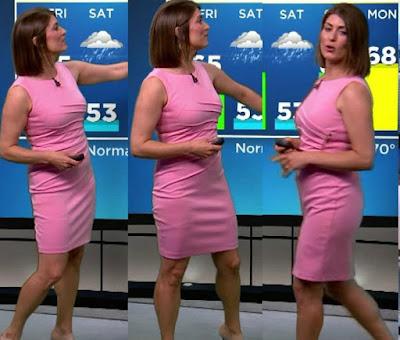Vanessa Murdock working as Meteorologist