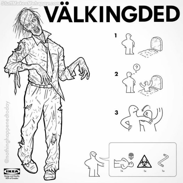 18 Horror Movie Characters You Can Create From IKEA's Comic Guide