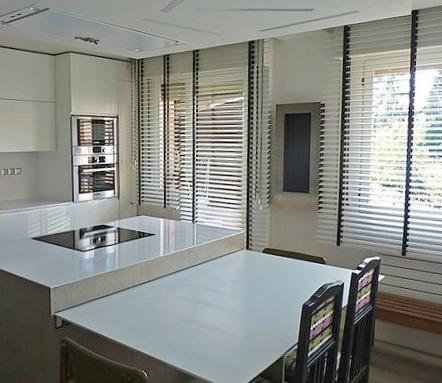 cortinas y estores para cocinas