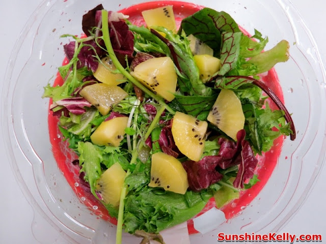 Life is Great, Zespri Green Kiwifruit, Zespri Daily Scoop Amazing Challenge, zespri salad