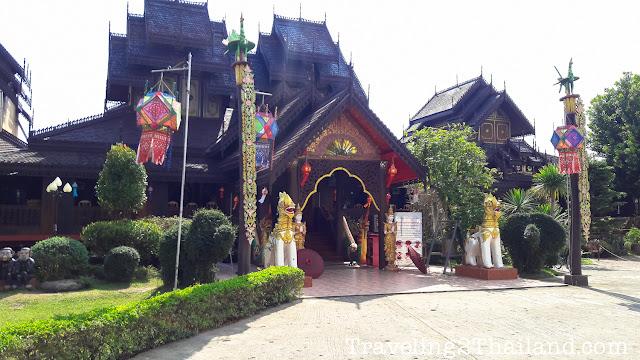 Wat Nantaram in Chiang Kham - Thailand
