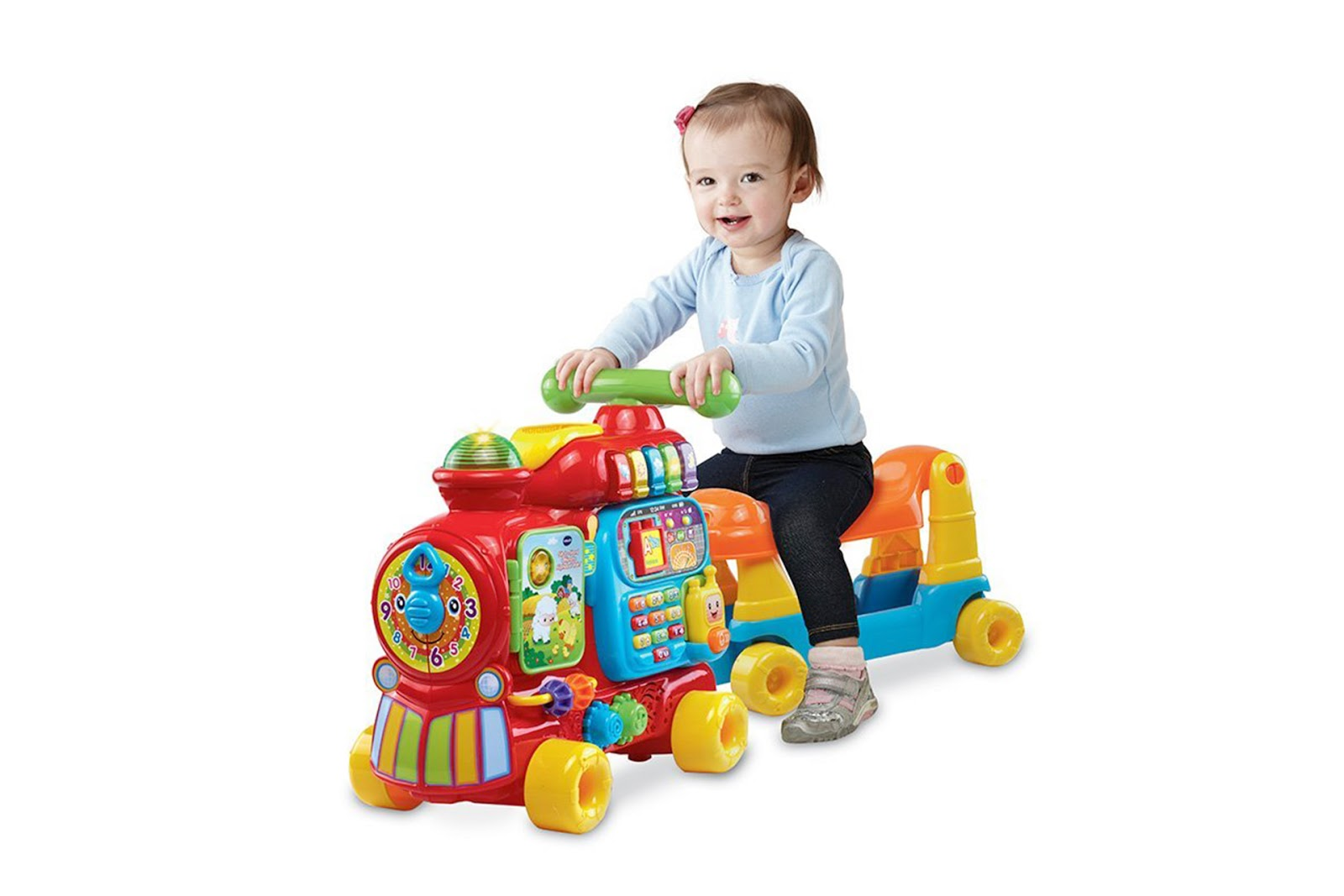 / 玩具出租 / 英國 VTech 歡樂積木四合一學習車