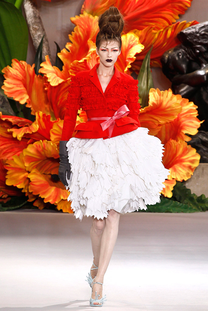 Fashion Runway Christian Dior Fall 2010 haute couture