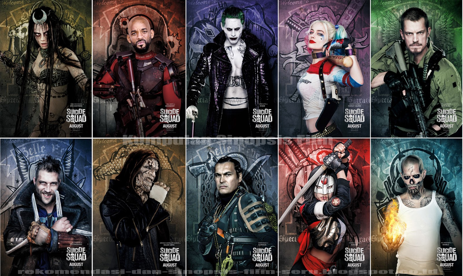 Panic At The Disco Wallpaper Hd Sinopsis Film Suicide Squad 2016 Mbah Sinopsis