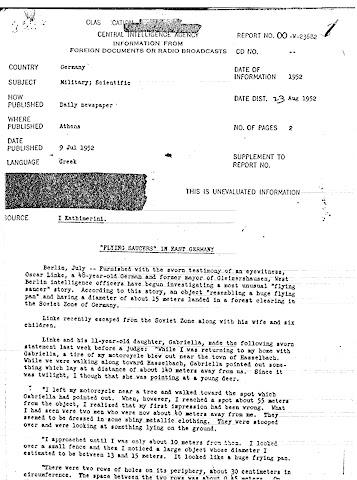 Documentos del testimonio.