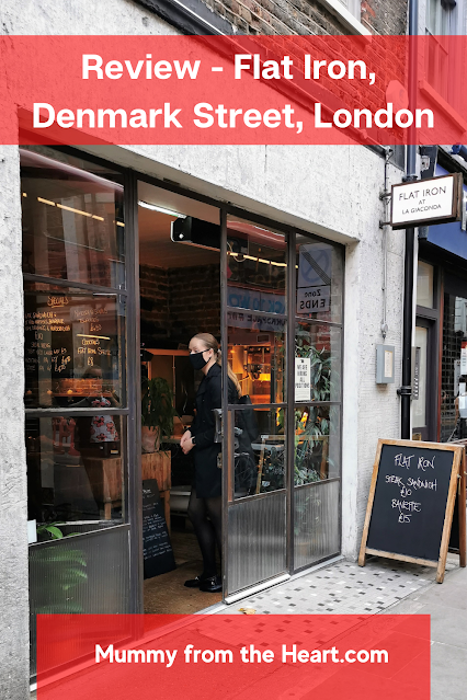 Review of our weekday evening meal at Flat Iron Denmark Street, London