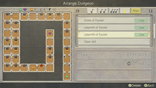 Big Spiral dungeon arrangement