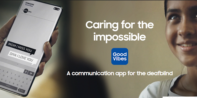 سامسونج تقدم تطبيق Good Vibes يساعد الصم على التواصل مع الآخرين