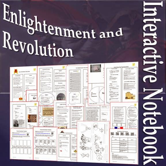 Enlightenment and Revolution Interactive Notebook