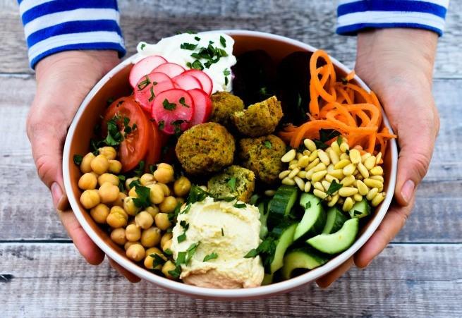 Lebanese Salad Buddha Bowl
