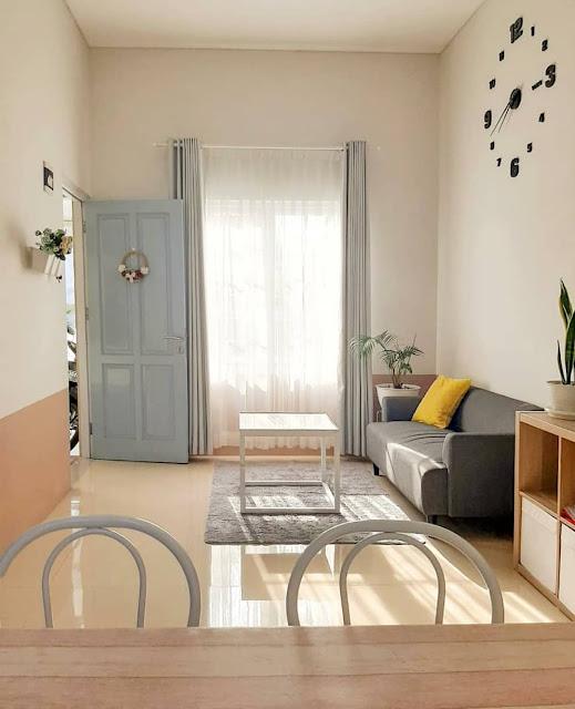 Desain Ruang Tamu Minimalis Sederhana Terbaru