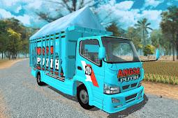 Livery Angsa Putih Mbois - Bak Fixed | ES Truck Simulator ID