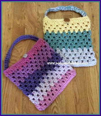 Posh Pooch Designs Dog Clothes: Chunky Granny Bag Crochet