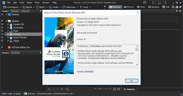 Screenshot ACDSee Photo Studio Ultimate 2020 v13.0 Build 2007 Full Version
