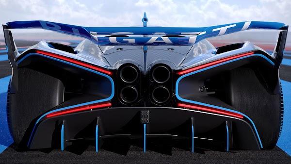 Bugatti Bolide Raih Penghargaan Mobil Tercantik Sedunia Tahun 2020