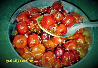 बेर का खट्टा - मीठा अचार बनाने की विधि -  ber ka achar recipe - how to make ber ka achar