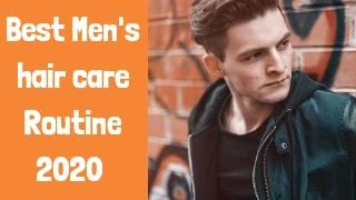 Skin care routine for men