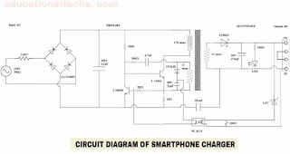 Smartphone Charger Circuit Diagram