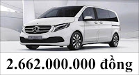 Giá xe Mercedes V250 Luxury 2021