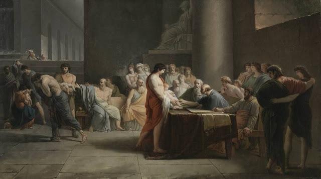 La selección de los niños en Esparta de  Jean-Pierre Saint-Ours