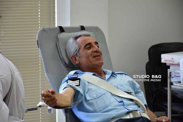 Εθελοντική αιμοδοσία και εκδηλώσεις από την Διεθνή Ένωση Αστυνομικών Αργολίδας (βίντεο)