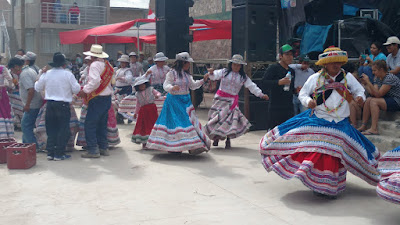 fiesta in the tiny town of Malata- Colca Canyon