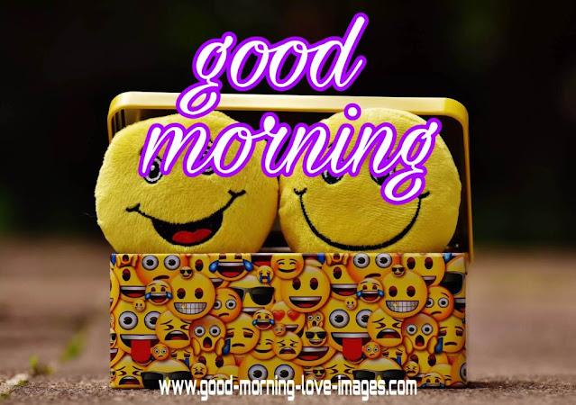 smiley good morning
