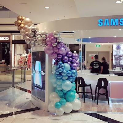 Samsung - New Product Launch  Decor by Chris Adamo of The Balloon Crew in Sydney, Australia
