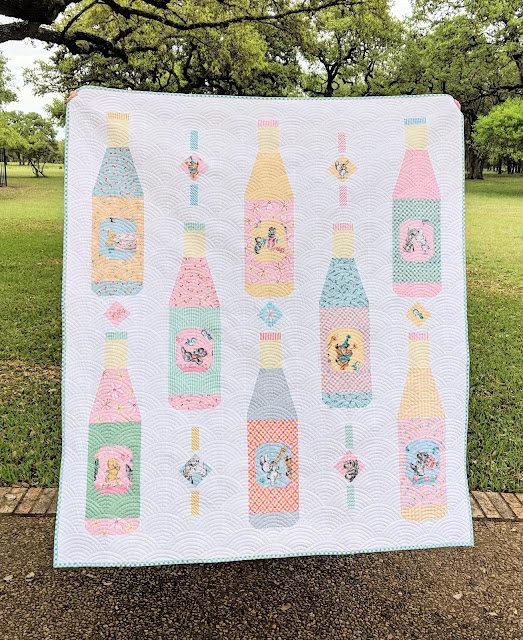 Soda Pop Shop Quilt Pattern by Heidi Staples of Fabric Mutt available through Lucky Spool