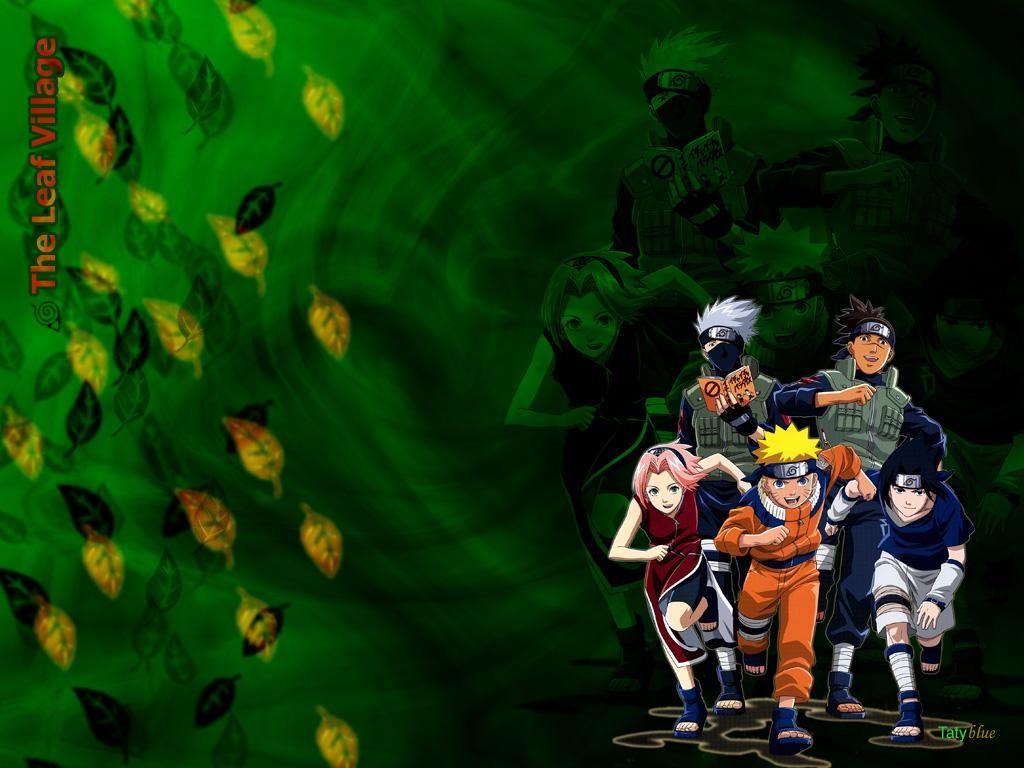 Naruto Characters: Team Kakashi