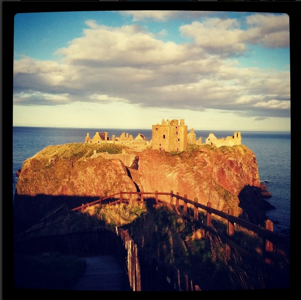 Dunnottar Castle (instagram)  'growourown.blogspot.com' ~ An allotment blog