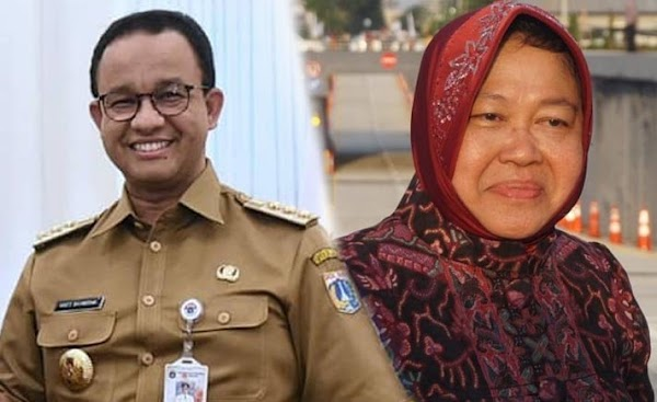 Denny Siregar: Jakarta Kasih ke Risma, Beres Semua, Nitizen: Indonesia Kasih ke Anies Beres Semua