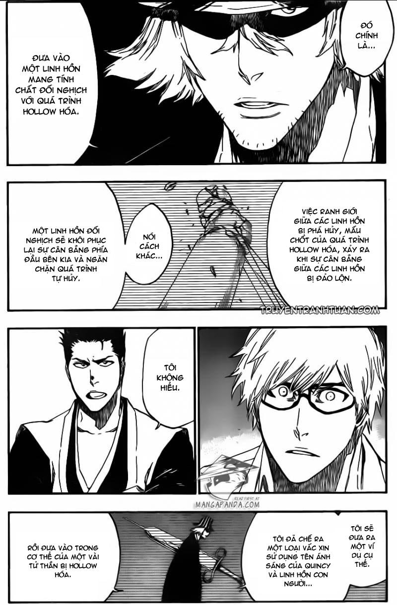 Bleach chapter 535 trang 10