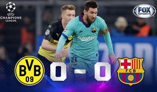 Borussia Dortmund Vs Barcelona - IGucl.uy