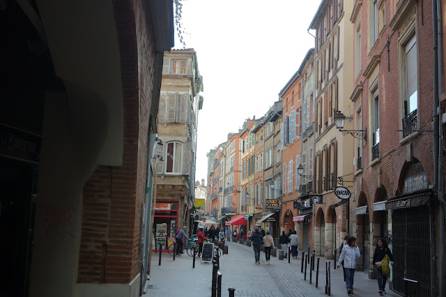 Toulouse France Street