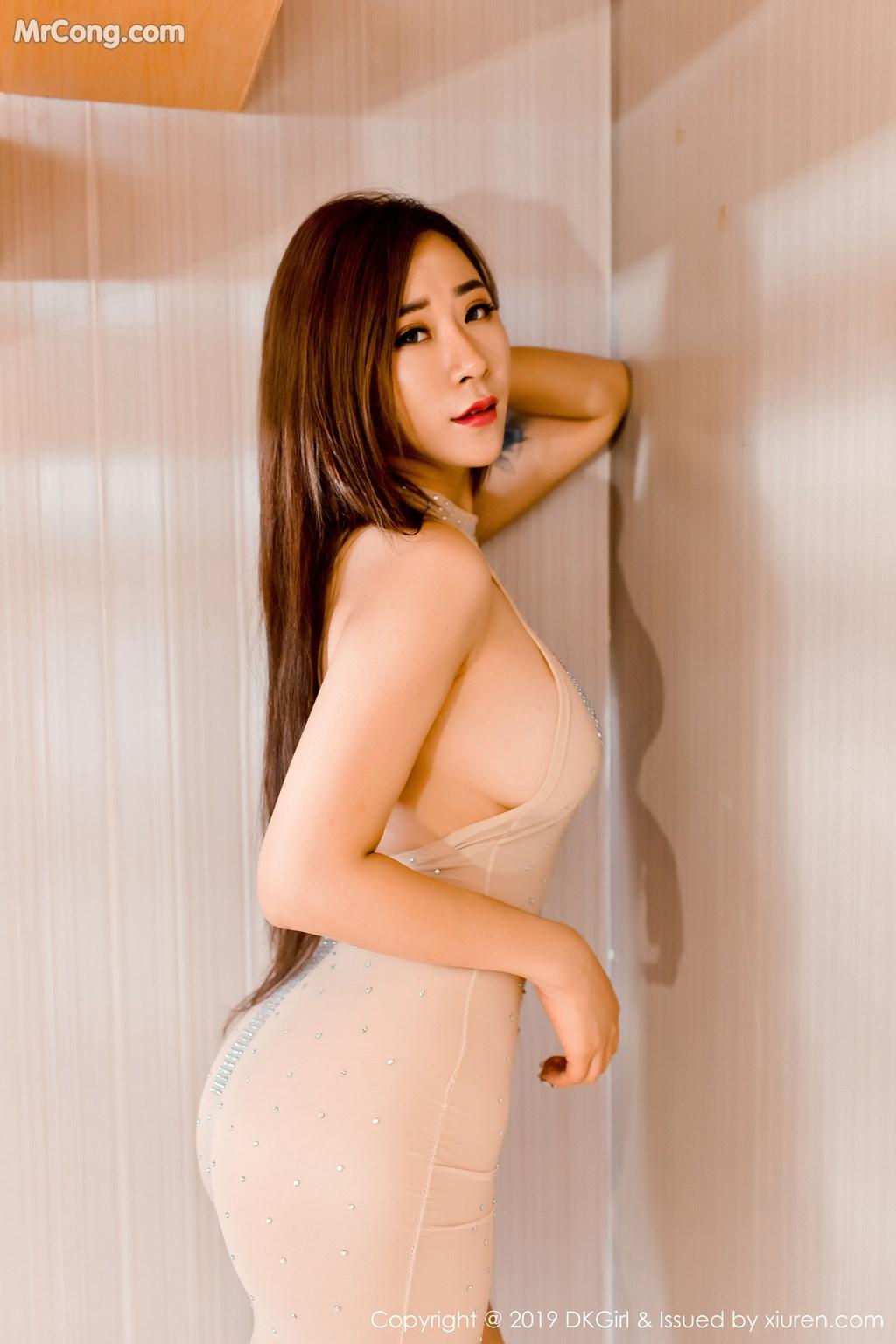 Image DKGirl-Vol.109-Cier-MrCong.com-004 in post DKGirl Vol.109: 雪儿Cier (49 ảnh)
