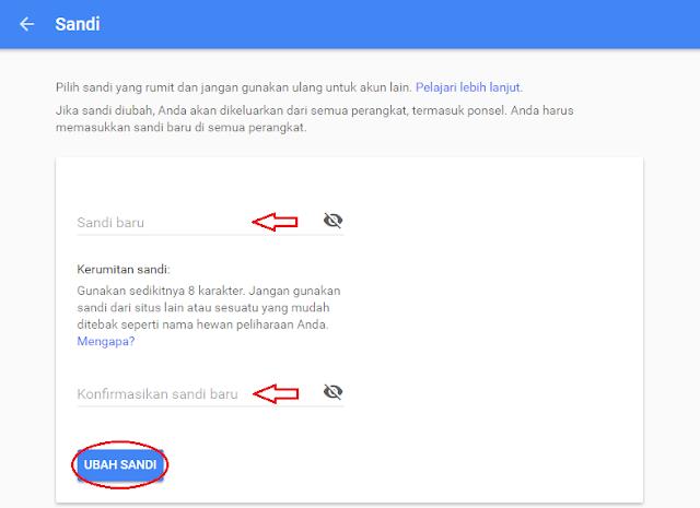 Google Mail atau yang biasa disingkat Gmail ialah layanan email berbasis web yang dikemb Cara Mengganti Password Email Gmail
