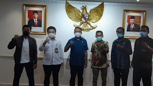 Kadis Pariwisata Dampingi Walikota Bima, Pertemuan  Dengan Kemenpora RI di Jakarta