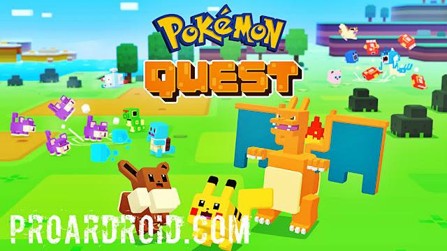 لعبة Pokémon Quest v1.0.4 مهكرة كاملة للأندرويد (اخر اصدار) logo