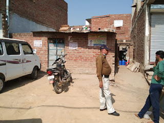 फ़ूड अधिकारी के द्वारा दो स्थानों पर की गई कार्यवाही