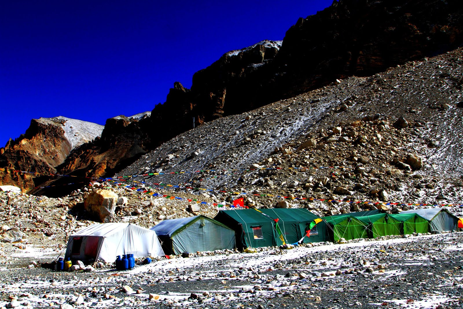 You can choose camping at Everest base camp.