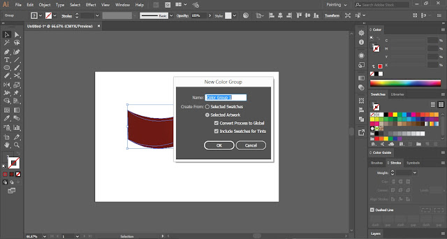 Save Custom Gradients in Adobe Illustrator