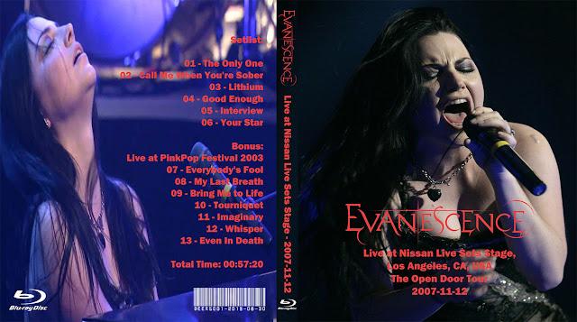 Deer5001RockCocert : Evanescence - 2007-11-12 - Live at