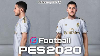 PES 2020 Faces Eden Hazard by Rachmad ABs